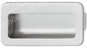 Flush Handle 110x56mm - Matt Chrome