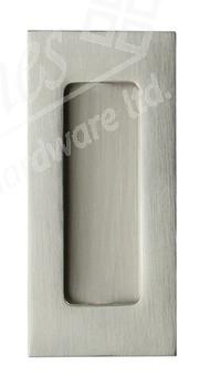 Flush pull handle, 102 x 50 mm