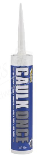Everbuild Caulk Once 295ml - White