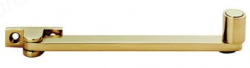 Roller Stay 152mm Polished Brass