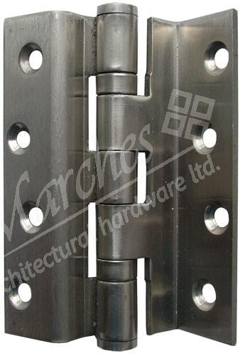 "4"" Ball Bearing Stormproof Hinge (pair) - Satin (304) Stainless Steel"