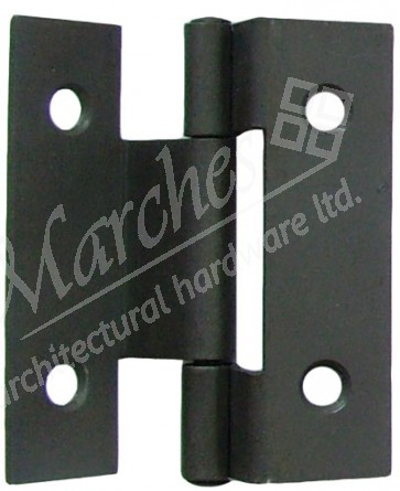 "2.5"" 106 Stormproof Butt Hinges (pair) - Sherardised"