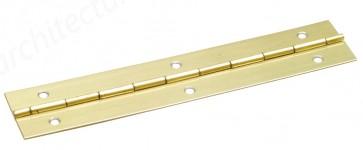 Steel Piano Hinge 32mm x 1.84m - Electro Brass