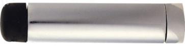 64mm Cylinder Door Stop - Satin Chrome