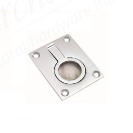 Flush Ring Pull - Polished Chrome