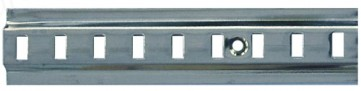 Raised Bookcase Strip 1.83m - Zinc Plated