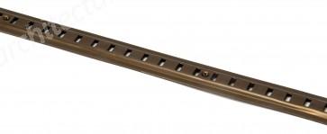 Raised Bookcase Strip 1.83m - Bronze Aluminium
