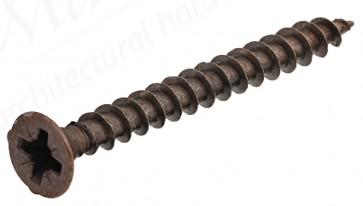 3.0 x 17mm Bronze CSK Screws (100)
