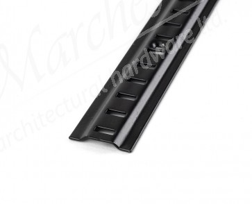 Raised Bookcase Strip 1.83m - Black