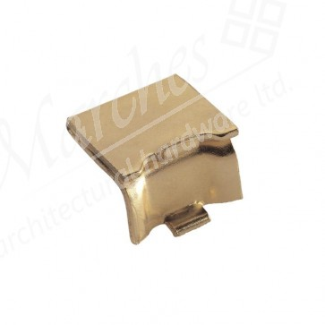 Heavy Duty Stud for Raised Bookcase Strip - Electro Brass