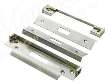 """Rebate Kit 0.5"""" for Deadlock - Satin Stainless Steel"""