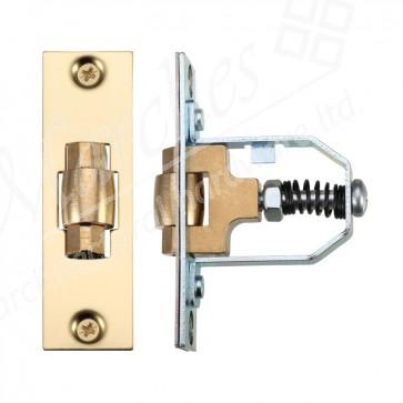 50mm Adjustable Roller Catch Brass
