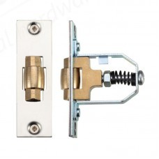 50mm Adjustable Roller Catch - Satin Stainless Steel