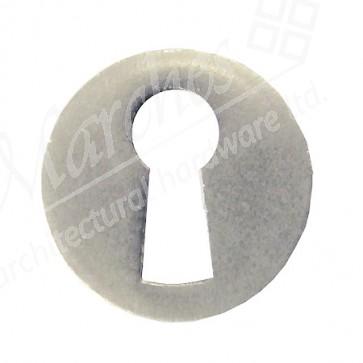 Escutcheon 22mm Round Matt - Nickel Plated
