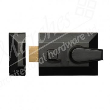60mm (5144) Night Latch (Only) - Black
