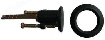 Kirkpatrick - Rim Cylinder Only 5142 - Black