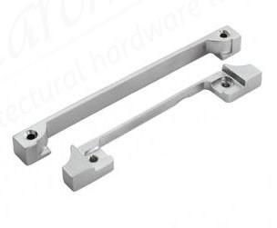 Euro Profile Deadlock Rebate Kit - Satin Stainless Steel