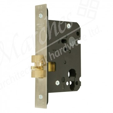 Mortice Cylinder Claw Bolt Dead Lock Case - Various Finishes