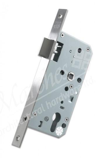 DIN Nightlatch 60mm Backset - Satin Stainless Steel