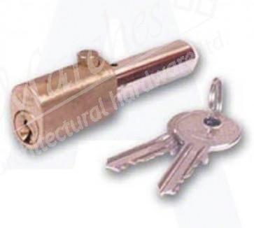Asec Oval Bullet Lock 45mm KD - Brass