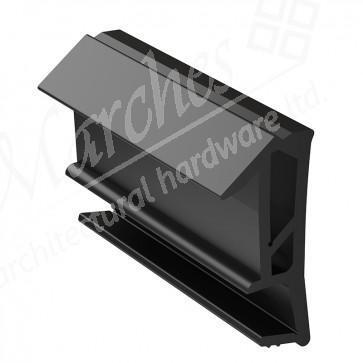 Deventer SPV124 15mm Rebate Weather Seal 150m - Black