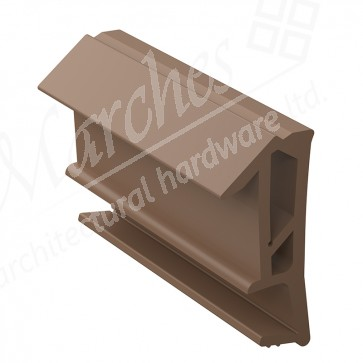 Deventer SPV124 15mm Rebate Weather Seal 150m - Brown