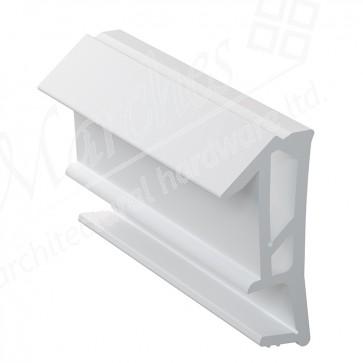 Deventer SPV12 12mm Rebate Weather Seal 180m - White