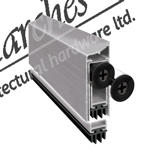 Exitex Concealex Facefix Applique - Aluminium (Various Lengths)