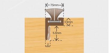 Exitex Brush Pile Carrier Offset Leg 2.2m - White