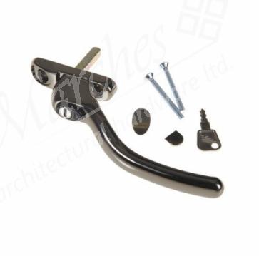 Fab & Fix Connoisseur Cranked Espag Handle LH - Bronze