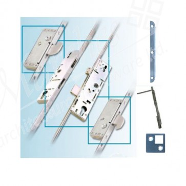 French Door Multipoint Locking System 45mm B/Set (Up to 44mm Doors)
