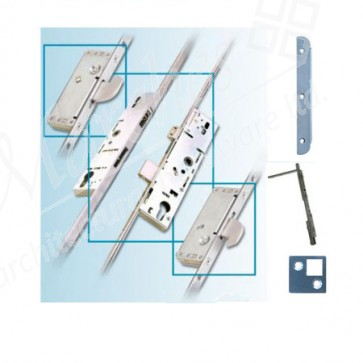 French Door Multipoint Locking System 45mm B/Set (Up to 57mm Doors)