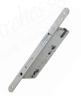 Winkhaus Standard 92mm cc Espag Lock (16mm Face Plate) - 45mm b/s