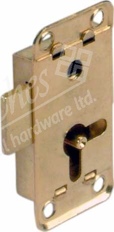 Rim Cupboard Lock bset 12.5 mm unhanded - EB