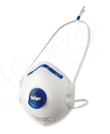 Draeger X-Plore 1310 FFP1 Mask (Valve) (Each)