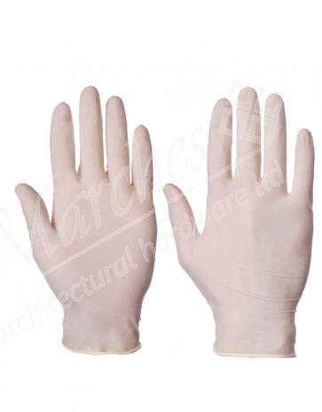 Powdered Latex Gloves XL (Size 10) (Box 100)