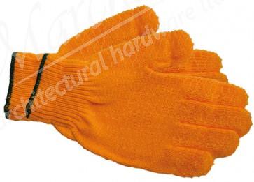 Gloves Yellow Criss Cross