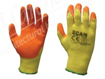 Multi Purpose Latex Grip Gloves - XL (Size 10)