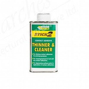 Everbuild Contact Adhesive Thinner and Cleaner - 250ml