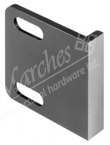 Screw-on Lock Angle White