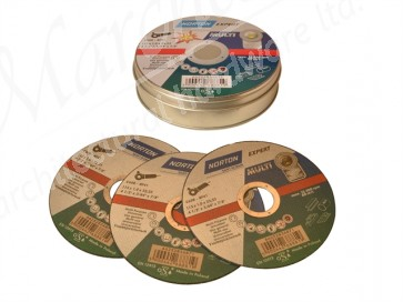 115 x 1 x 22mmØ Multi Purpose Discs (Pack of 10)
