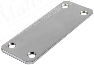 Connecting Plate - length 98 mm - Bright zinc plated