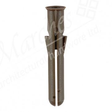Brown Premium Plastic Plugs (Box 1000)