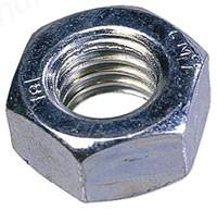 M10 Hexagon Full Nut BZP