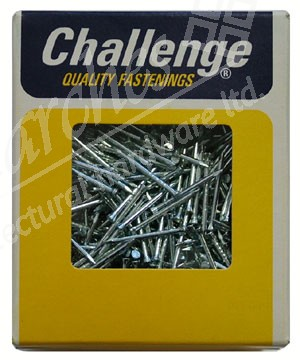 15x1.25 Panel Pins Zinc 500g