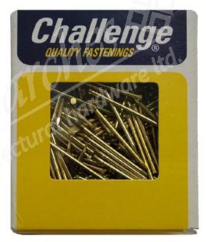 30x1.6 Brass Panel Pins 500g