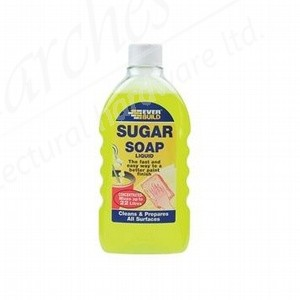 Everbuild Sugar Soap Liquid - 500ml