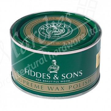 Fiddes Supreme Wax Polish 400ml - Rugger Brown
