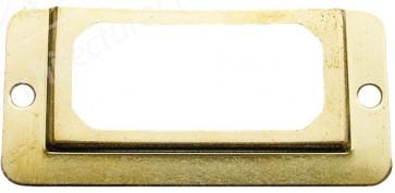 Card Frame - Electro Brass