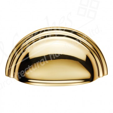 Victorian Cup Pull - Brass